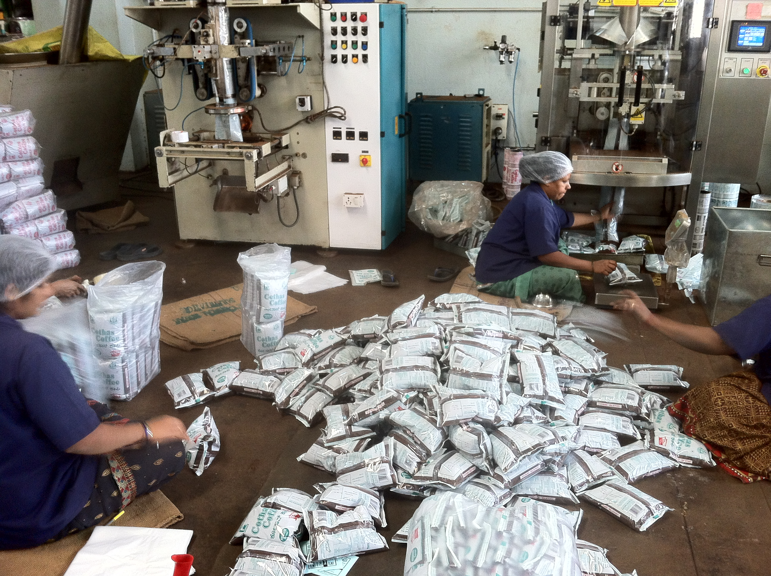 Coffee Packaging Operation