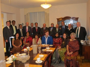 Dinner at Consul General's