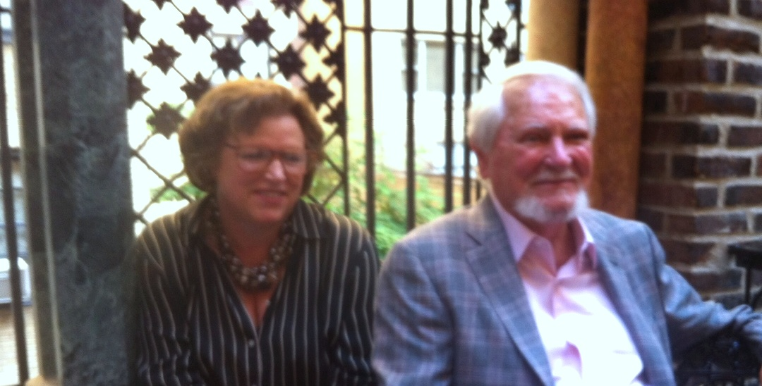 Janet Walsh and Clive Cussler
